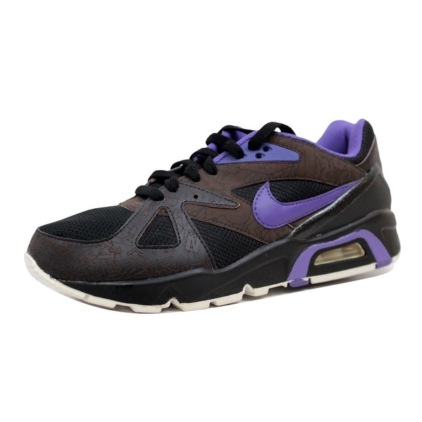 Nike Men's Air Structure Triax 91 Premium Black/Varsity Purple-White-Dark Cinder 365774-051 Size 8