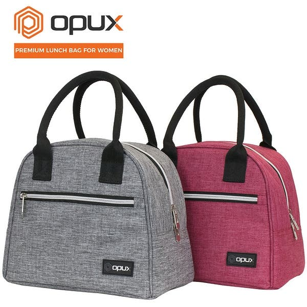 Opux Premium Insulated Lunch Bag For Women Tote