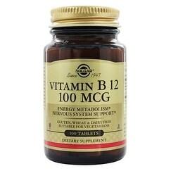Solgar Vitamin B12 100 Mcg Tablets 100