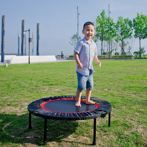 40 Inch Mini Exercise Trampoline for Adults or Kids