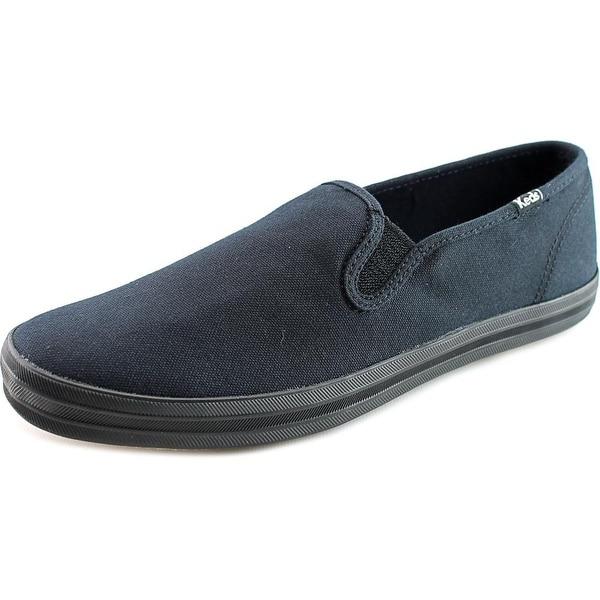 b8aa5545ccd Shop Keds Champion Slip On Women W Round Toe Canvas Black Sneakers ...