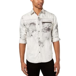 ef84e8df8d76 Quick View. Was  32.49.  10.91 OFF. Sale  21.58. Sean John Mens Washed  Pocket Button Down Shirt