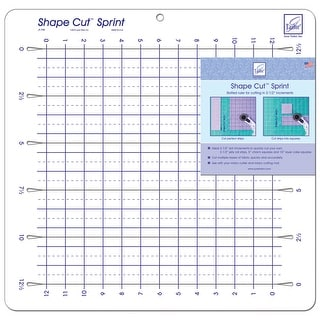 "Shape Cut Sprint-16""X16-1/2"""