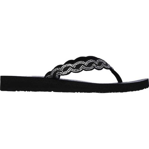 Details about Skechers Sandals Women's Performance On The GO 600 Glossy Flip Flop