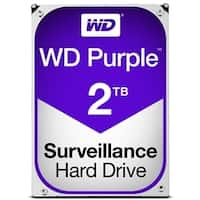 Western Digital Hard Drive WD20PURZ WD Purple AV 3.5 2TB 64MB SATA 6Gb/s Bulk