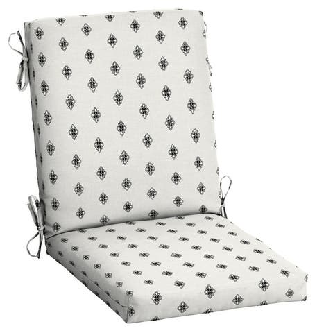 Arden Selections Americana Outdoor High Back Dining Chair Cushion