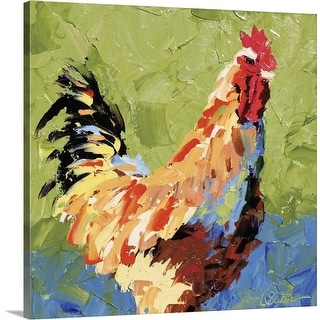 """""""Rooster II"""" Canvas Wall Art"""