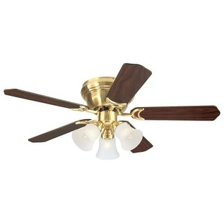 """Westinghouse 7850900 Contempra Trio 42"""" 5 Blade Hugger Indoor Ceiling Fan with R"""
