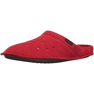 Crocs Mens Classic Mule Slippers Textured Lined