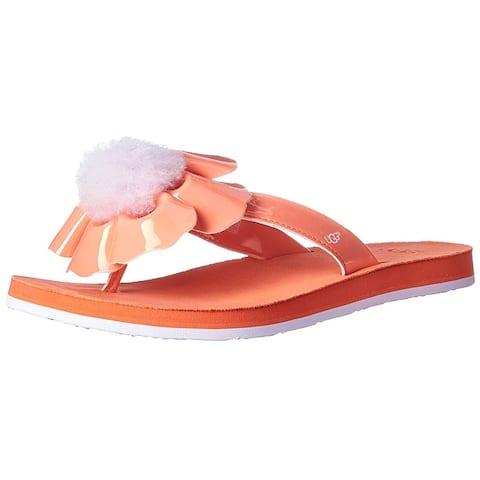 Ugg Womens poppy Open Toe Casual