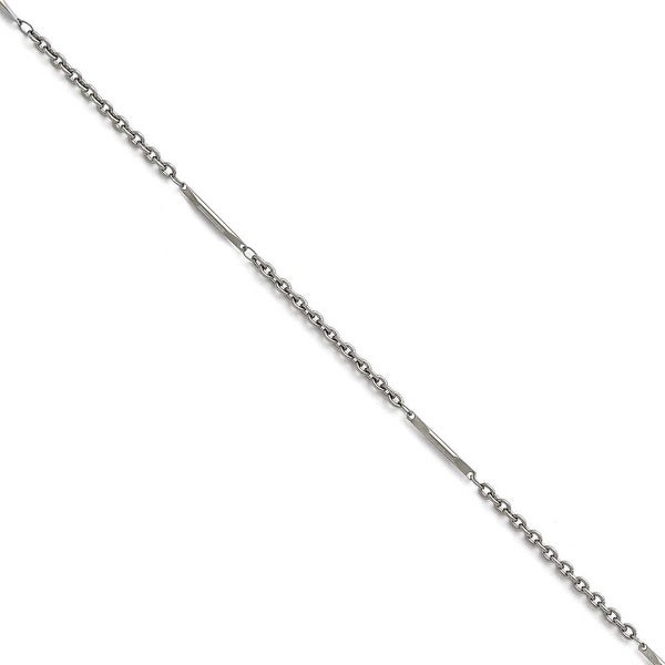 Chisel Stainless Steel Polished Fancy Link Necklace - 24 in