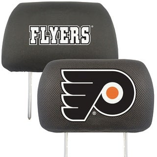 "NHL - Philadelphia Flyers Head Rest Cover 10""x13"""