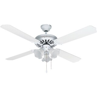Home Impressions 52 Wht Chat Ceiling Fan