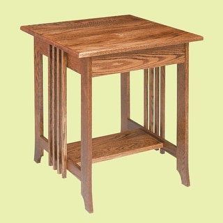 End Tables Dark Oak Mission Table 24.5H