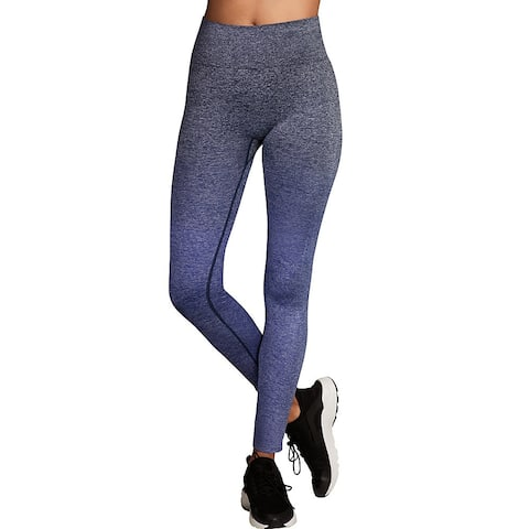 Maidenform Baselayer Thermal Legging - Color - Navy Ombre Heather - Size - XL