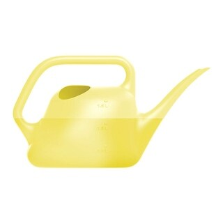 Fiskars 434157-4001 Watering Can, 1.5 Liter, Yellow