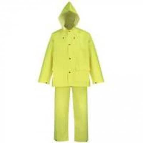 Diamondback OX025PU-XXL Polyester Rainsuit, XX-Large, Yellow, 3 Piece
