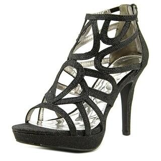 Report Rocko Women Open Toe Synthetic Black Sandals