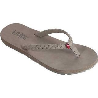 ce383e576 Quick View.  29.95. Flojos Women s Harper Braided Flip Flop Stone  Polyurethane