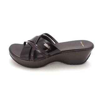 Cole Haan Womens 14A4145 Open Toe Casual Platform Sandals