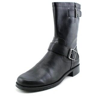 Aerosoles Take Pride Women Round Toe Synthetic Black Mid Calf Boot