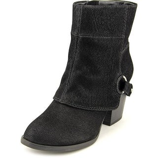 Fergalicious Liza Pointed Toe Synthetic Bootie
