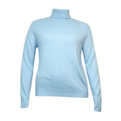 Karen Scott Women's Luxsoft Cozy Turtleneck Sweater