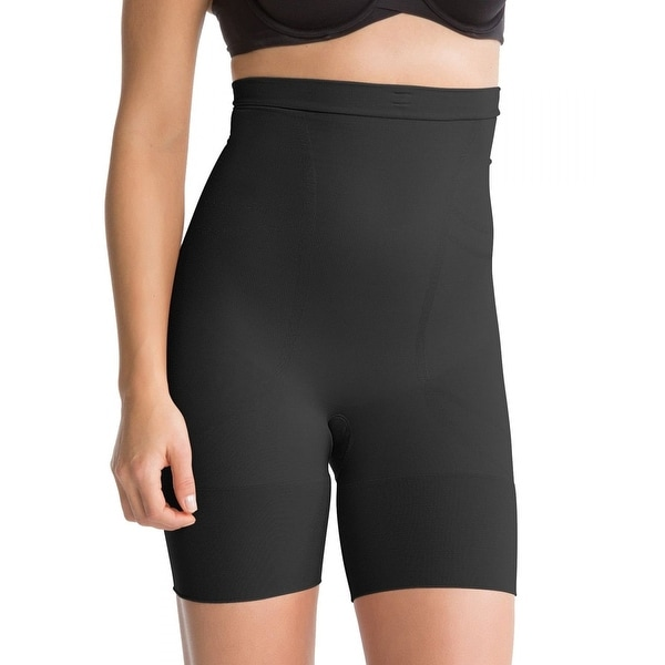 05a6b2a295f36 Shop SPANX Women s Slim Cognito High Waisted Mid Thigh Shaper - Free  Shipping Today - Overstock.com - 17755529
