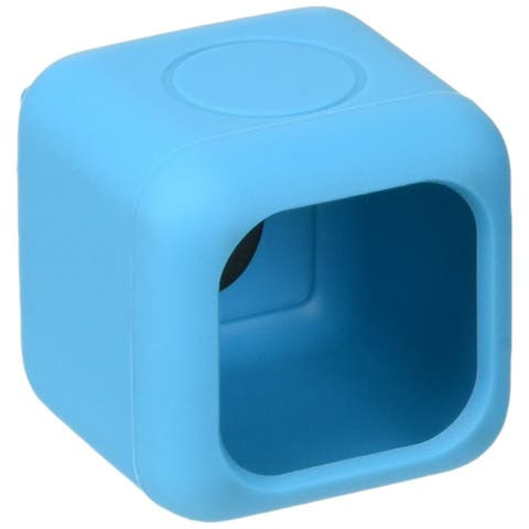 Polaroid Bumper Pendent Case (Blue) for the Polaroid CUBE, CUBE+ HD Action Lifestyle Camera  Includes 90cm Lanyard & Metal Hook