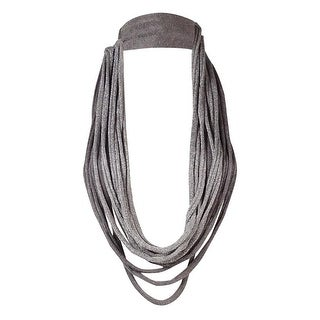 Eileen Fisher Women's Lightweight Sparkle Knit Necklace Scarf - os