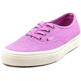 Vans Authentic Round Toe Canvas Sneakers