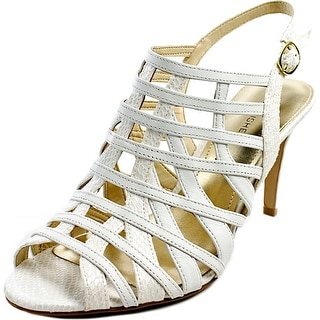 Marc Fisher Nalora Open Toe Leather Sandals
