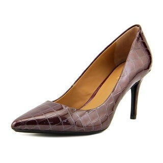 Calvin Klein Gayle Pointed Toe Synthetic Heels