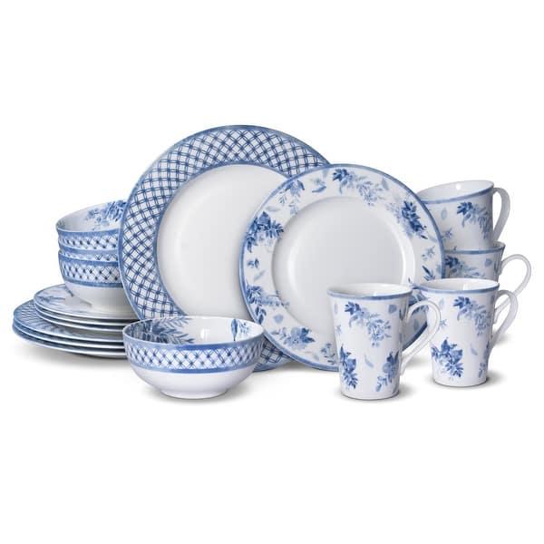 16 Pc Dinnerware Set Service For 4