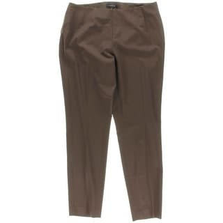 Lafayette 148 Womens Wool Twill Casual Pants