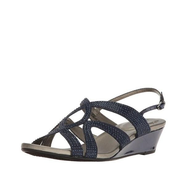 Bandolino Gomeisa Embellished Wedge Sandal - 10 b(m)