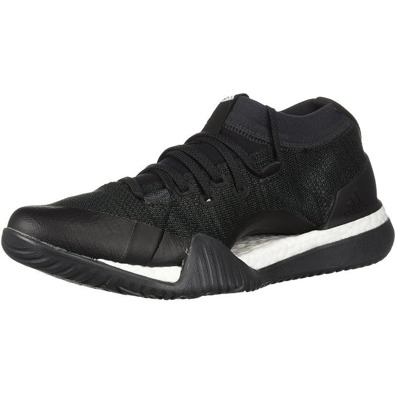 ladies black trainers adidas
