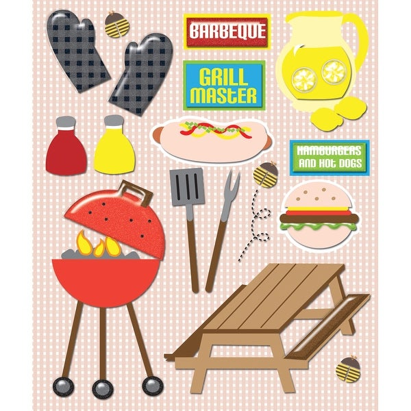 Life's Little Occasions Sticker Medley-Barbecue