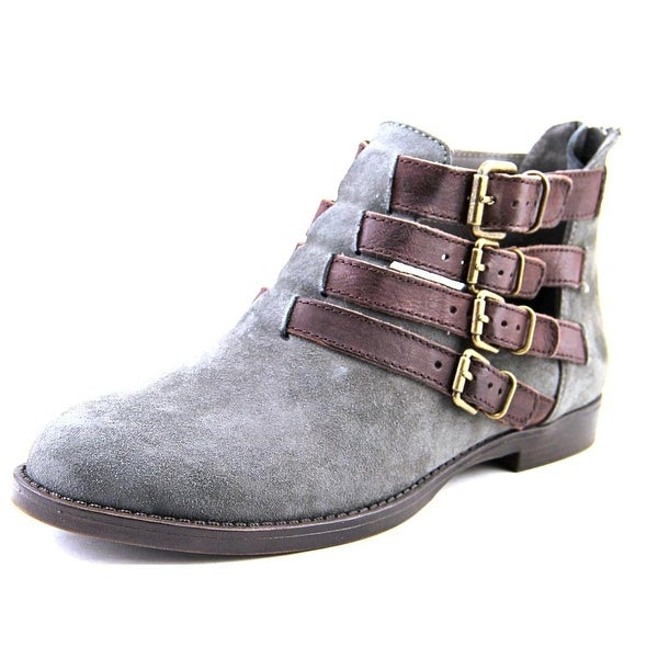 Bella Vita Ronan Women Grey/Chestnut Boots