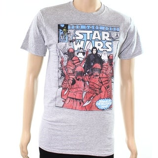 Fruit of the Loom NEW Gray Mens Size Small S Star Wars Graphic Tee T-Shirt 718