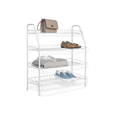 Whitmor 6023-211 4 tier closet shelves