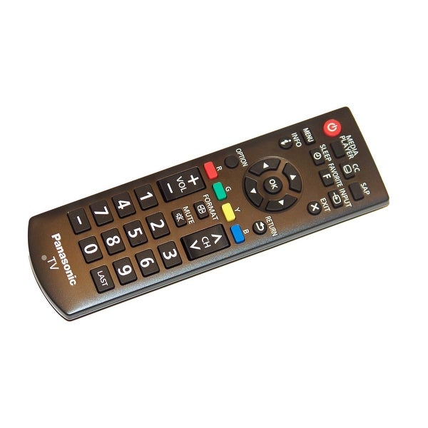 OEM Panasonic Remote Control Originally Shipped With: TH32LRU6, TH-32LRU6, TH32LRU60, TH-32LRU60, TH39LRU6, TH-39LRU6