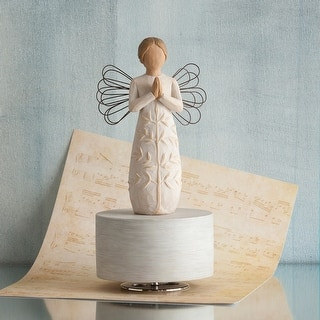 Willow Tree - A Tree, A Prayer Musical Figurine - Natural|https://ak1.ostkcdn.com/images/products/is/images/direct/85f954501b930071b0a18bf948dc753274e390c8/Willow-Tree---A-Tree%2C-A-Prayer-Musical-Figurine.jpg?impolicy=medium
