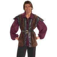Forum Novelties Medieval Mercenary Adult Costume - Brown - Standard