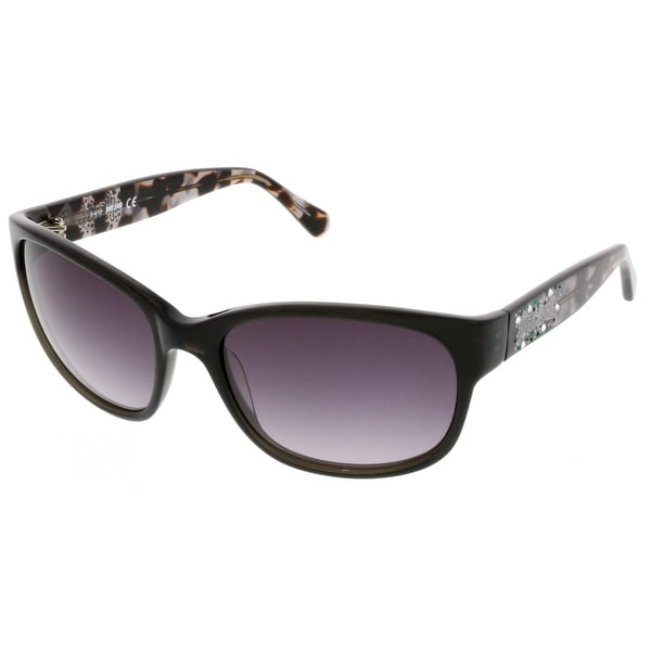 Just Cavalli JC 496S/S 20B Black/Havana Wayfarer Sunglasses - 59-18-130
