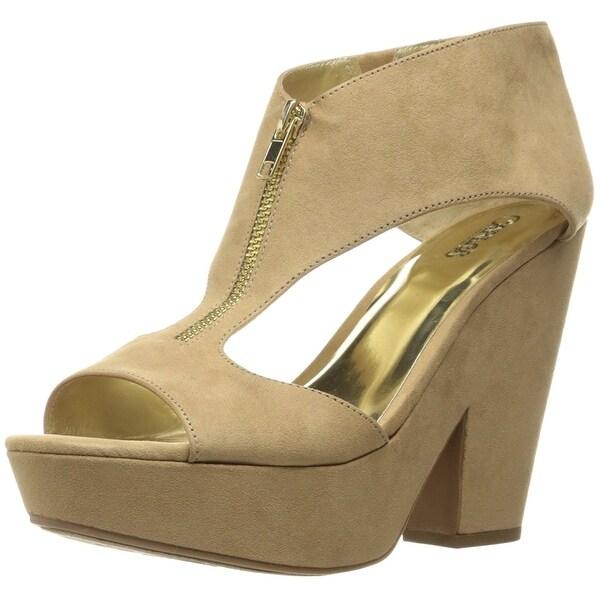 Carlos by Carlos Santana Womens Blaine Fabric Open Toe Casual Platform Sandals