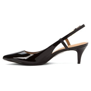 Calvin Klein Womens Patsi Pointed Toe Ankle Strap Classic Pumps
