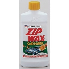 Turtle Wax T75A Zip Wax Car Wash & Wax, 16 Oz