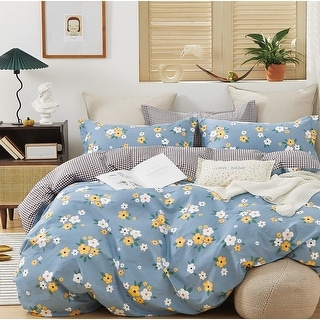 Link to Rae 100% Cotton Reversible Comforter Set Similar Items in Comforter Sets