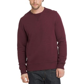 Bass Mens Crewneck Sweater Fleece Long Sleeves